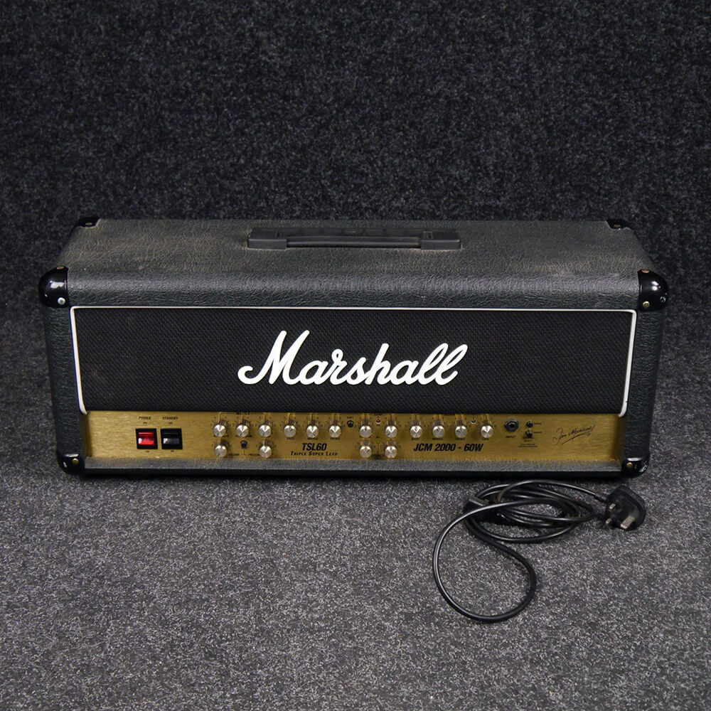 marshall jcm2000 tsl60 amp head 2nd hand collection only rich tone music. Black Bedroom Furniture Sets. Home Design Ideas