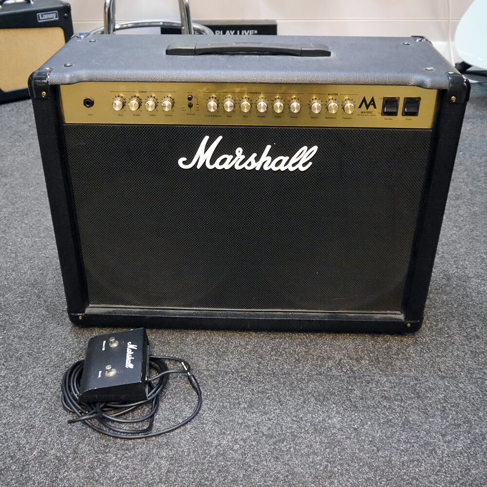 Marshall MA100C 2x12 Combo Amplifier - 2nd Hand **COLLECTION ONLY**