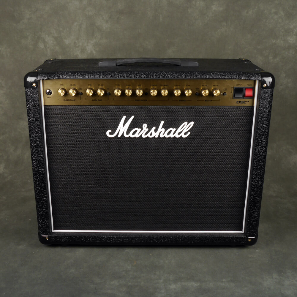 Marshall DSL40 Valve Combo Amp - 2nd Hand **COLLECTION ONLY**