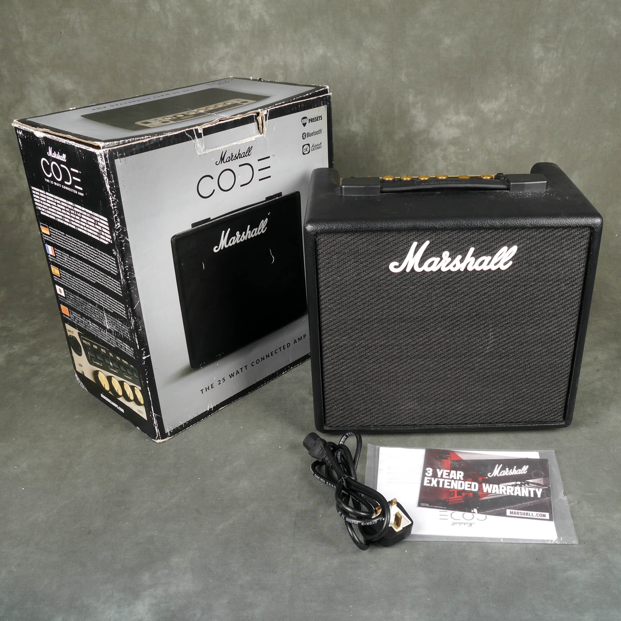 Marshall Code 25 Guitar Combo Amplifier w/Box - 2nd Hand