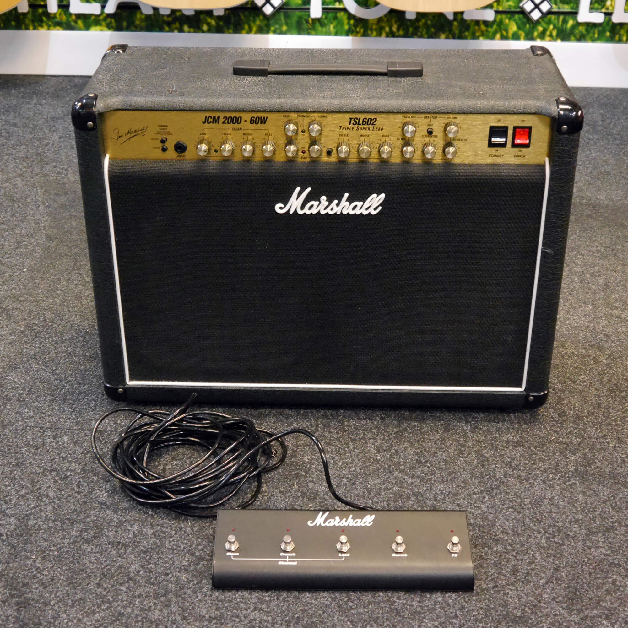Marshall JCM2000 TSL602 Guitar Combo Amplifier - 2nd Hand **COLLECTION ONLY**