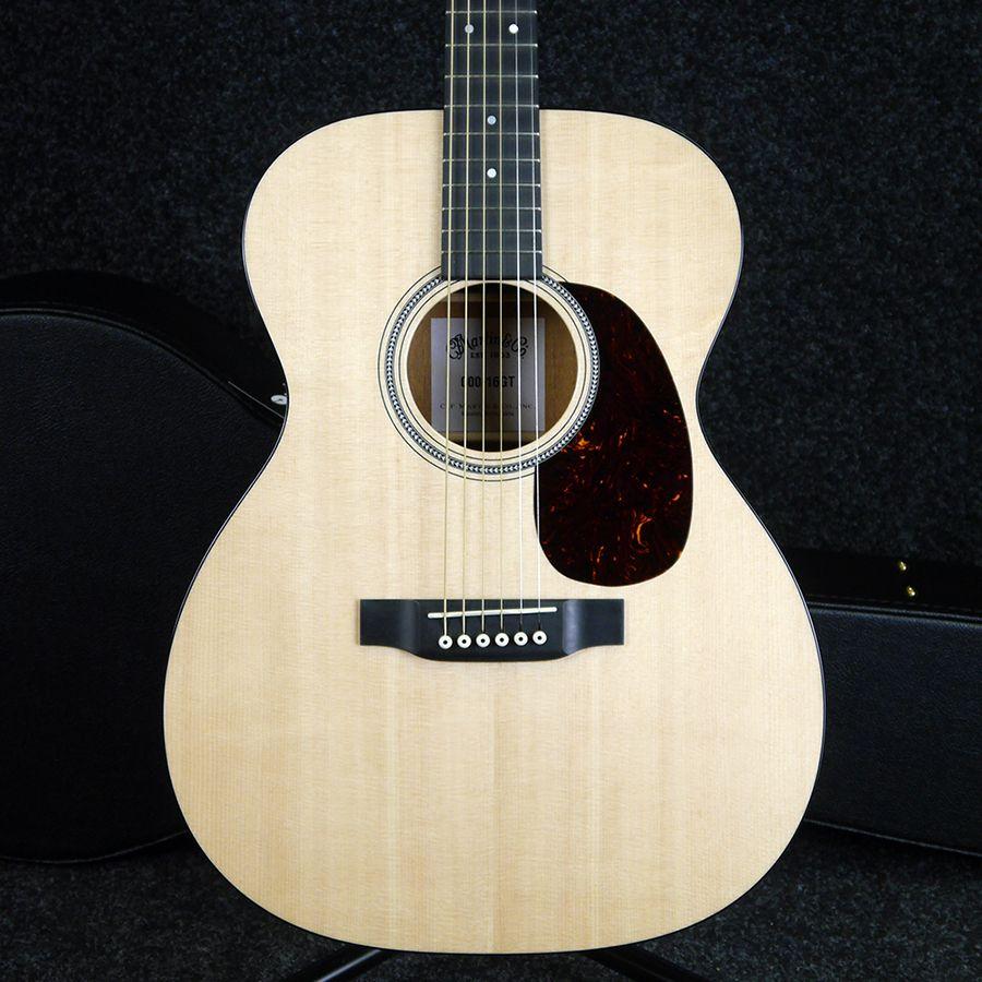 martin 000 16gt acoustic guitar w hard case 2nd hand rich tone music. Black Bedroom Furniture Sets. Home Design Ideas