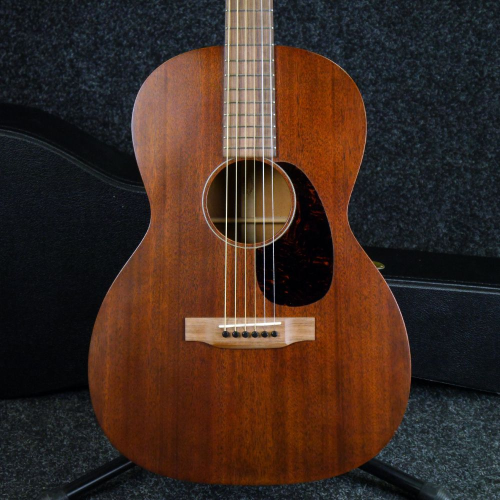 martin 15 series 000 15sm mahogany acoustic w hard case 2nd hand rich tone music. Black Bedroom Furniture Sets. Home Design Ideas