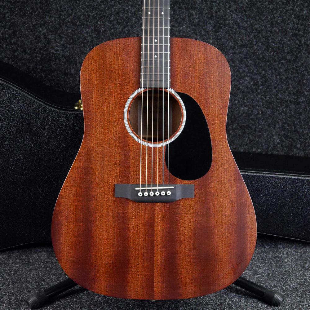 martin drs1 acoustic guitar natural w hard case 2nd hand rich tone music. Black Bedroom Furniture Sets. Home Design Ideas