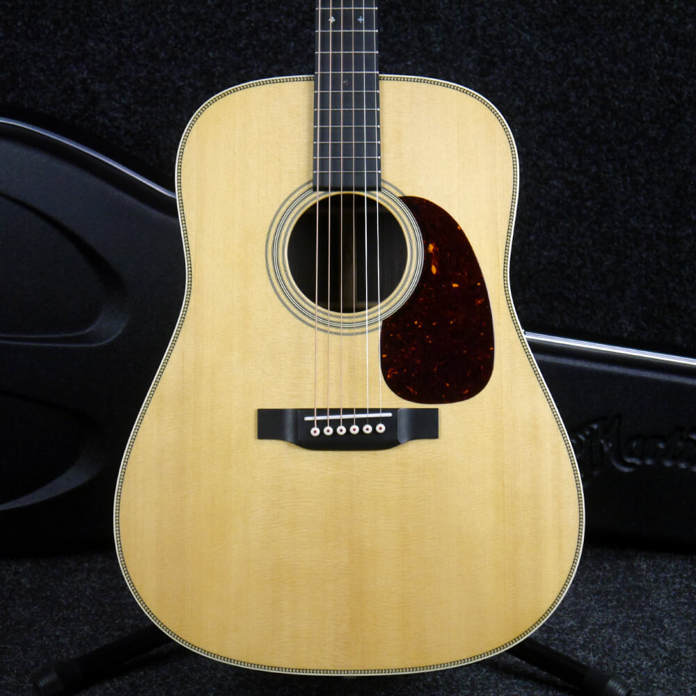 Martin HD-28 Re-Imagined Dreadnought Acoustic Guitar - Natural w/Case - 2nd Hand