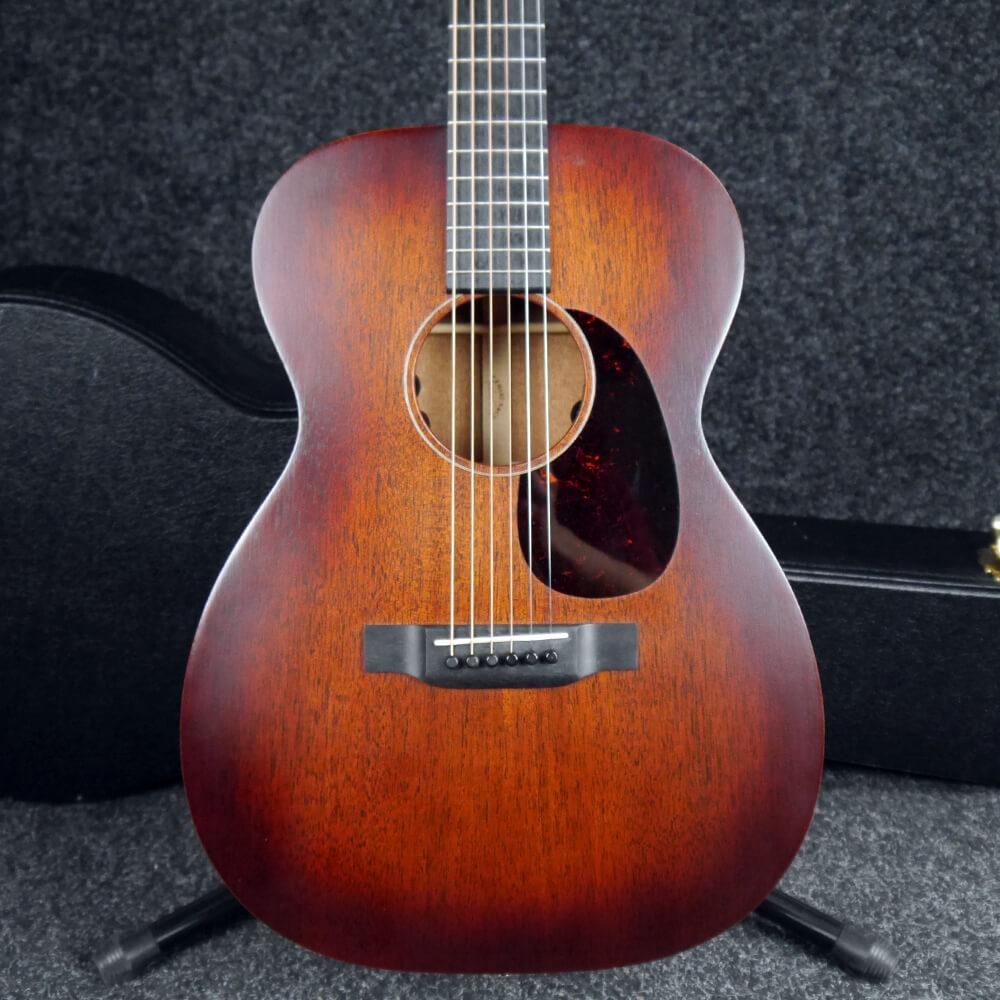 Martin 00-15ME Retro Electro-Acoustic Guitar - Mahogany Burst w/Case - 2nd Hand