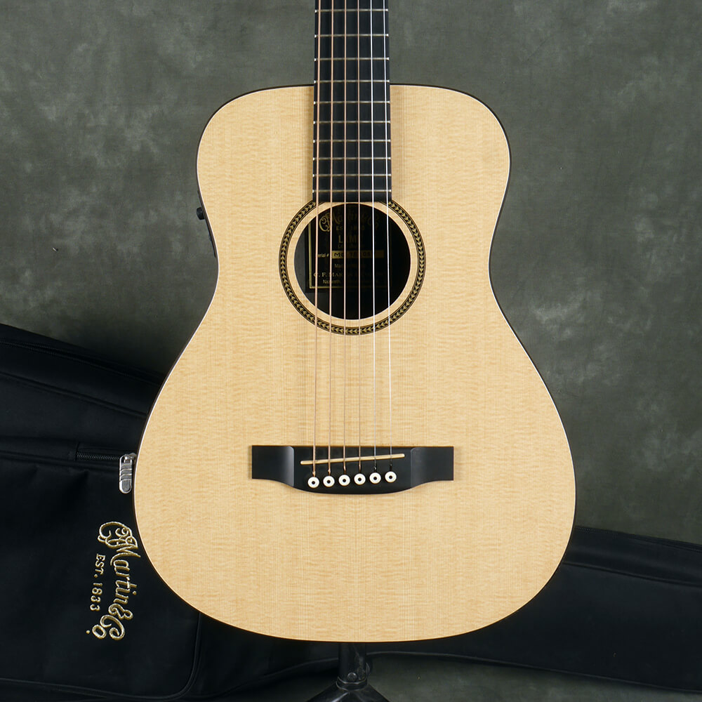 Martin LXME Little Martin Electro-Acoustic - Natural w/Gig Bag - 2nd Hand