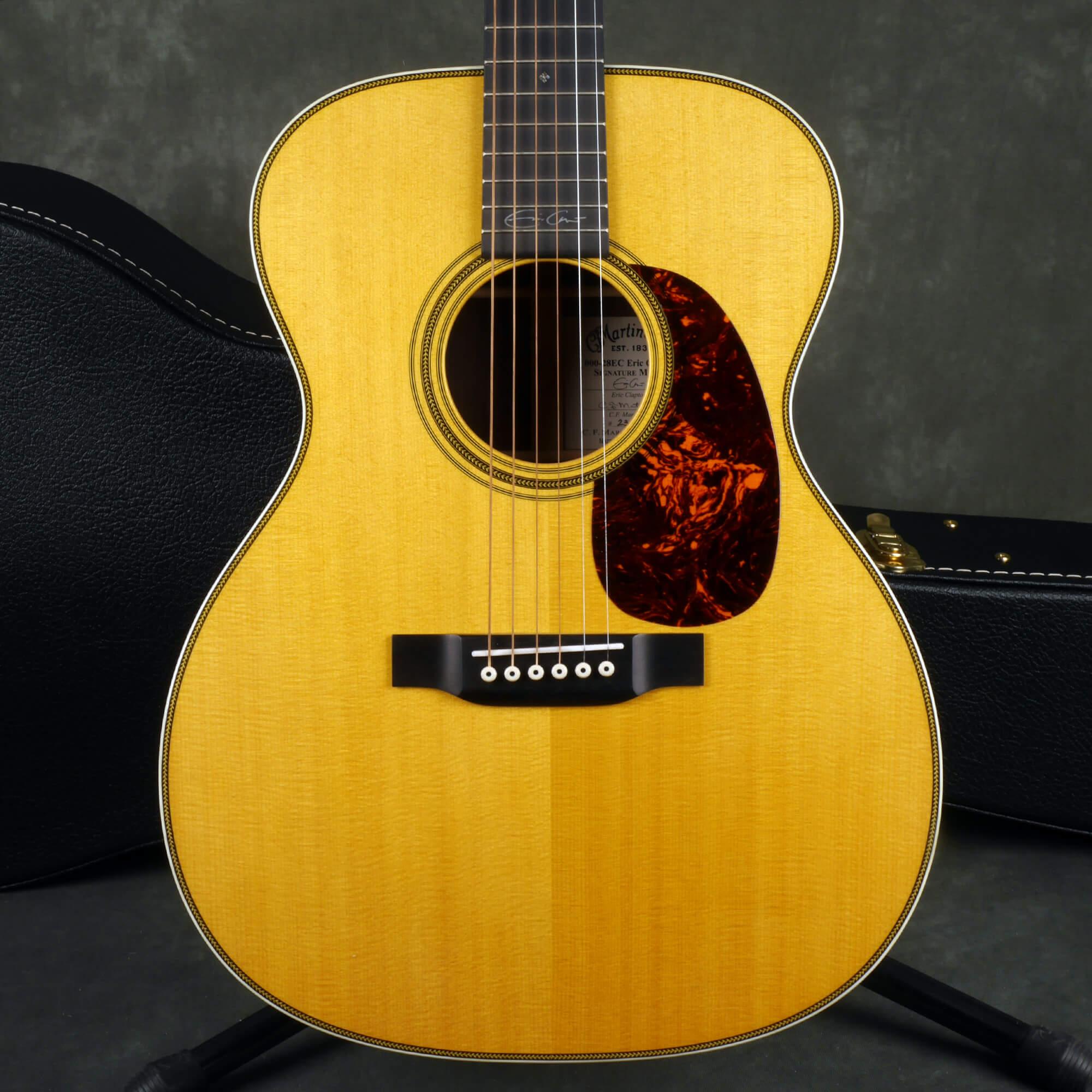 Martin 000-28EC Eric Clapton Signature Acoustic - Natural w/Case - 2nd Hand