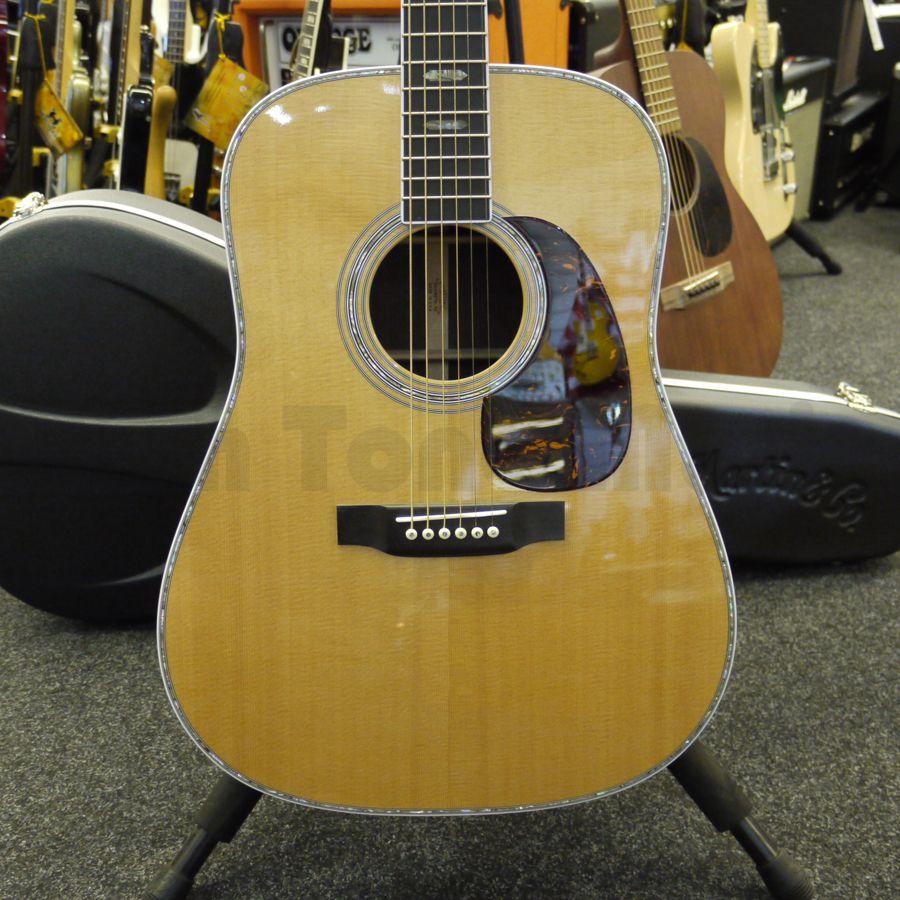 martin d 41 acoustic guitar hard case 2nd hand rich tone music. Black Bedroom Furniture Sets. Home Design Ideas