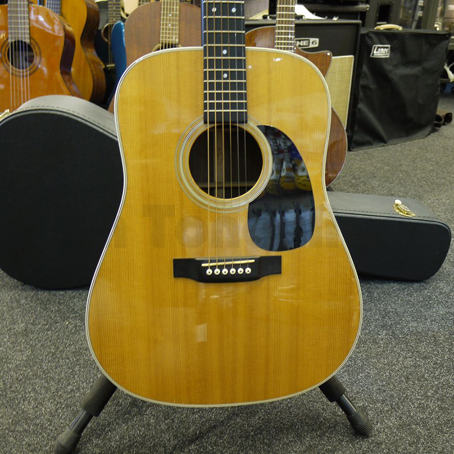 martin d28 acoustic guitar 2nd hand rich tone music. Black Bedroom Furniture Sets. Home Design Ideas