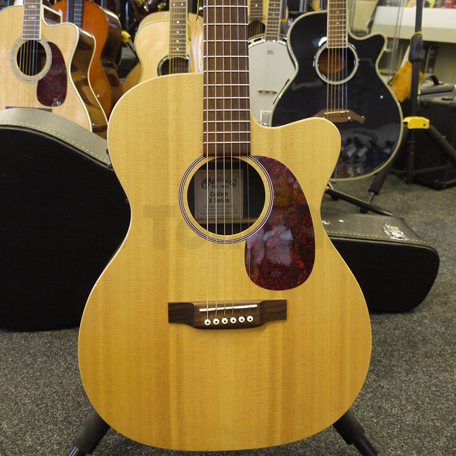 martin custom x series acoustic guitar 2nd hand rich tone music. Black Bedroom Furniture Sets. Home Design Ideas