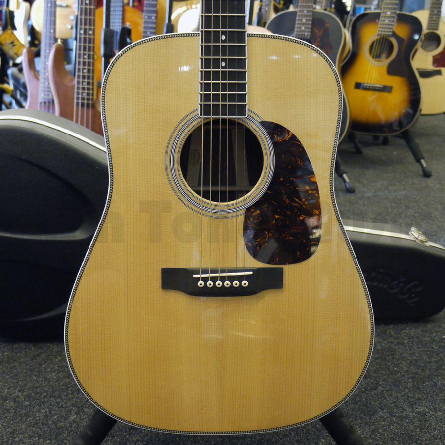 martin hd35 acoustic guitar w hard case 2nd hand rich tone music. Black Bedroom Furniture Sets. Home Design Ideas