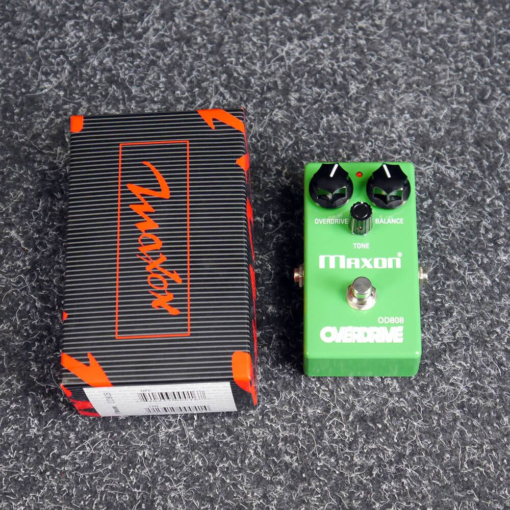 Maxon OD-808 Overdrive FX Pedal w/Box - 2nd Hand