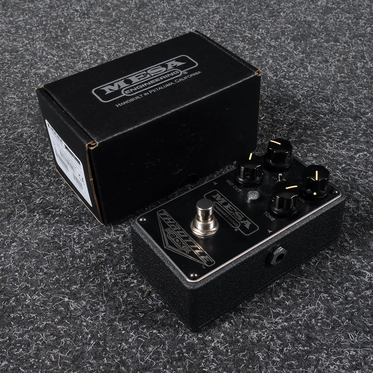 Mesa Boogie Throttle Box Distortion FX Pedal w/Box - 2nd Hand