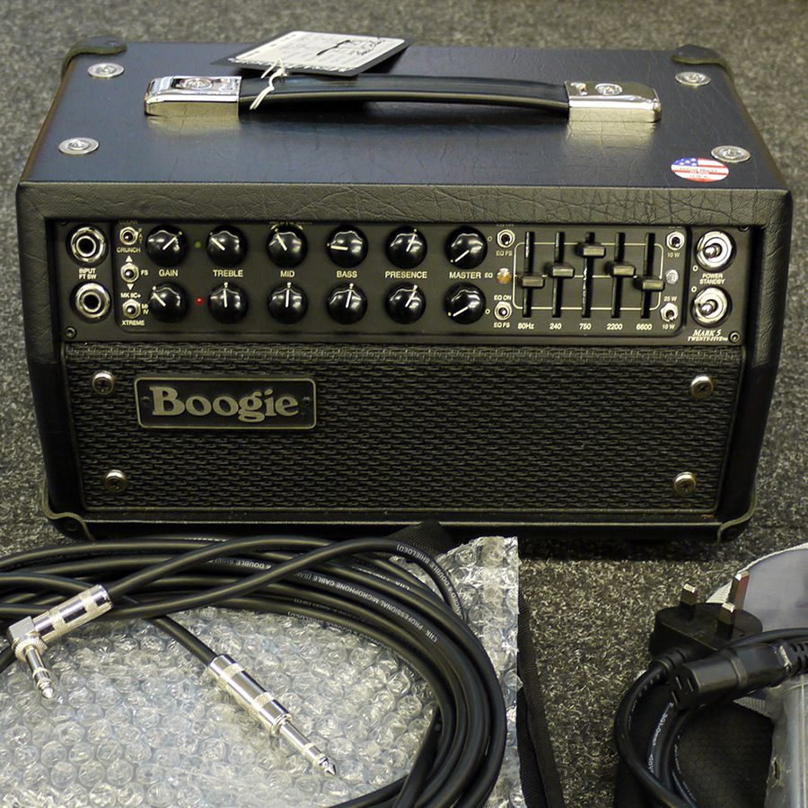 Mesa Boogie Mark Five 25 Amp Head w/ Soft Case - 2nd Hand