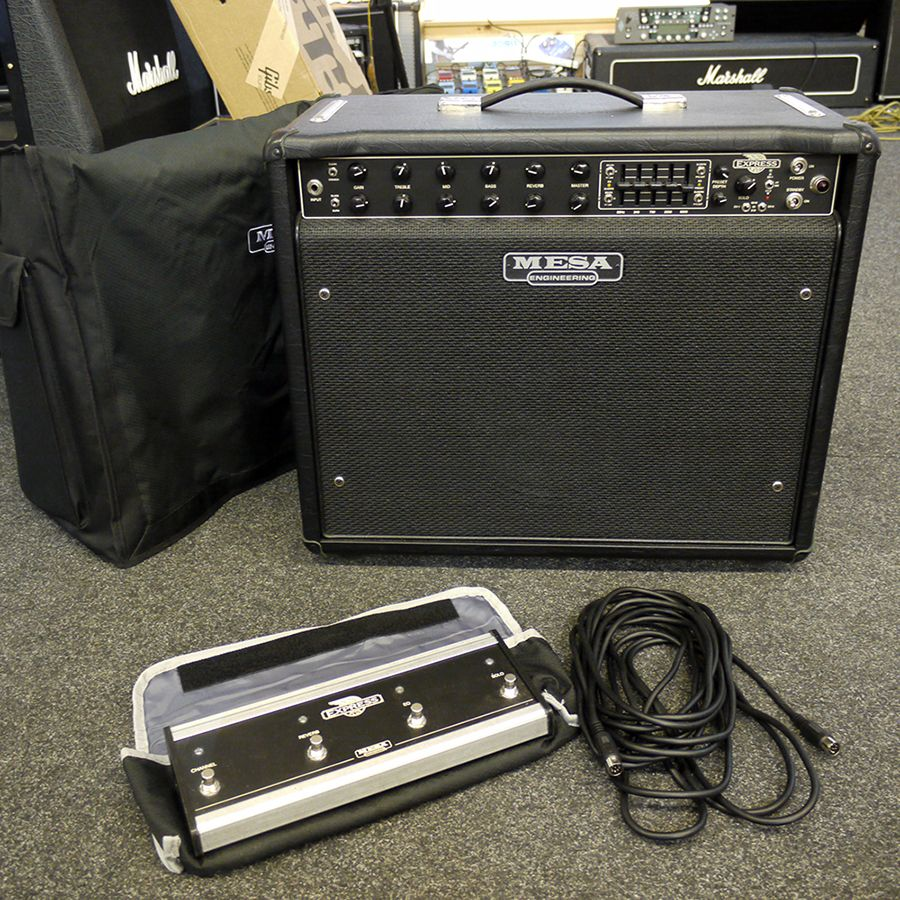 Mesa Boogie Express 5:50 Plus Combo Amp w/ Footswitch & Cover - 2nd Hand