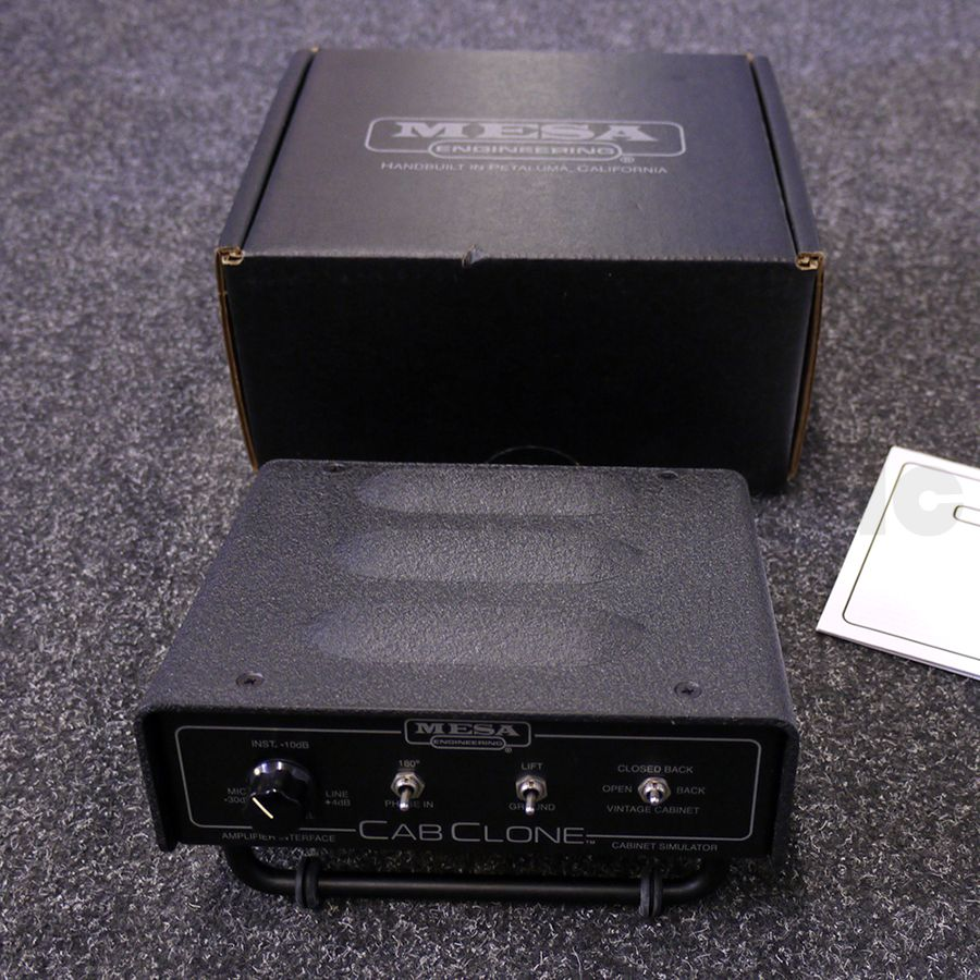 Mesa Boogie CabClone - 8 Ohms w/ Box - 2nd Hand