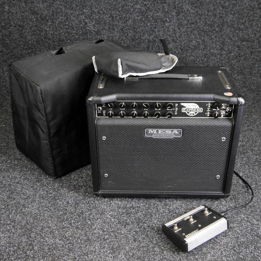 Mesa Boogie 5:25 Express 1x10 Combo Amp w/ Footswitch & Cover - 2nd Hand
