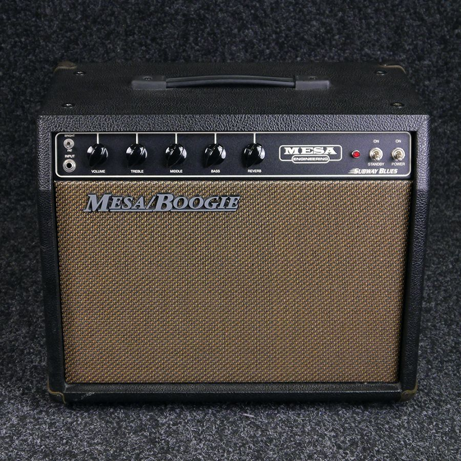 mesa boogie subway blues combo amp 2nd hand rich tone music. Black Bedroom Furniture Sets. Home Design Ideas