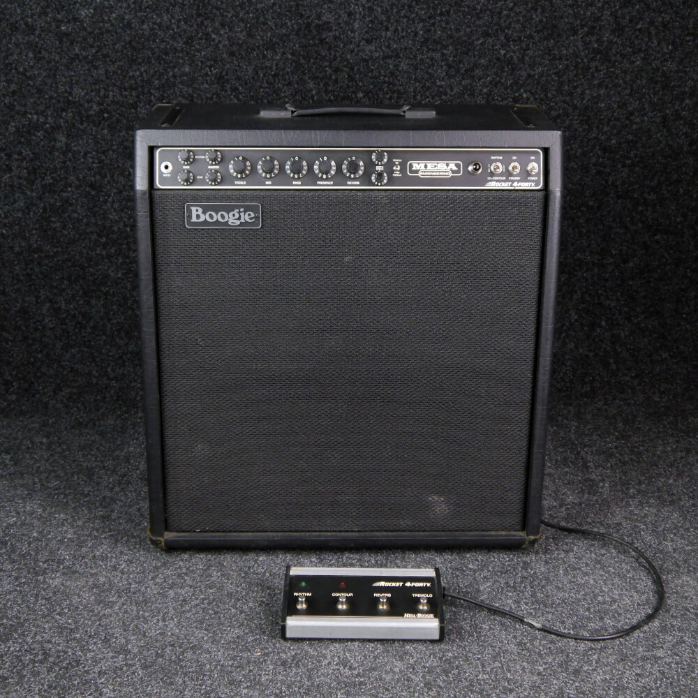 Mesa Boogie Rocket 4 Forty Amp, Alnico Jensens - 2nd Hand **COLLECTION ONLY**