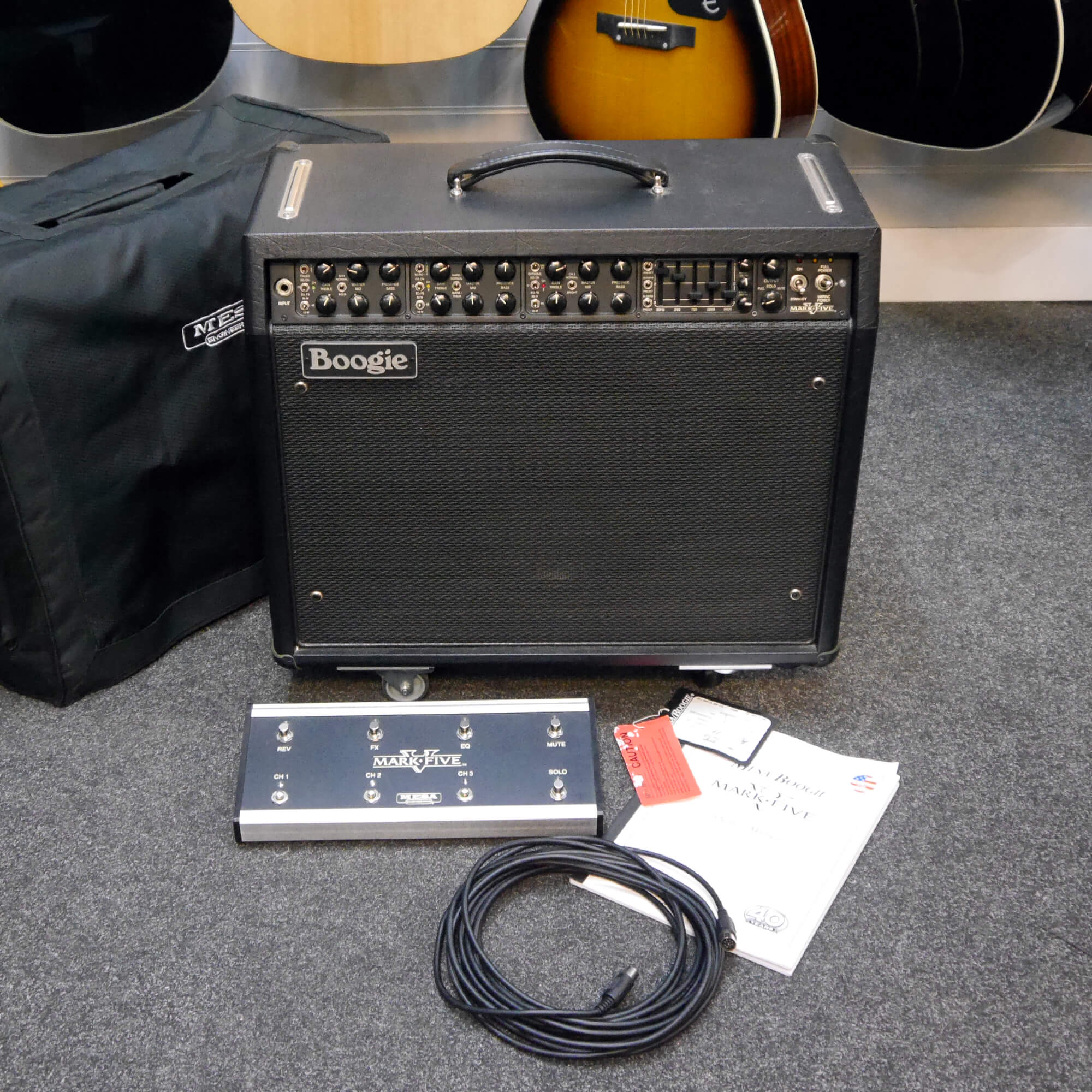 Mesa Boogie Mark V Combo Amp w/Cover - 2nd Hand **COLLECTION ONLY**