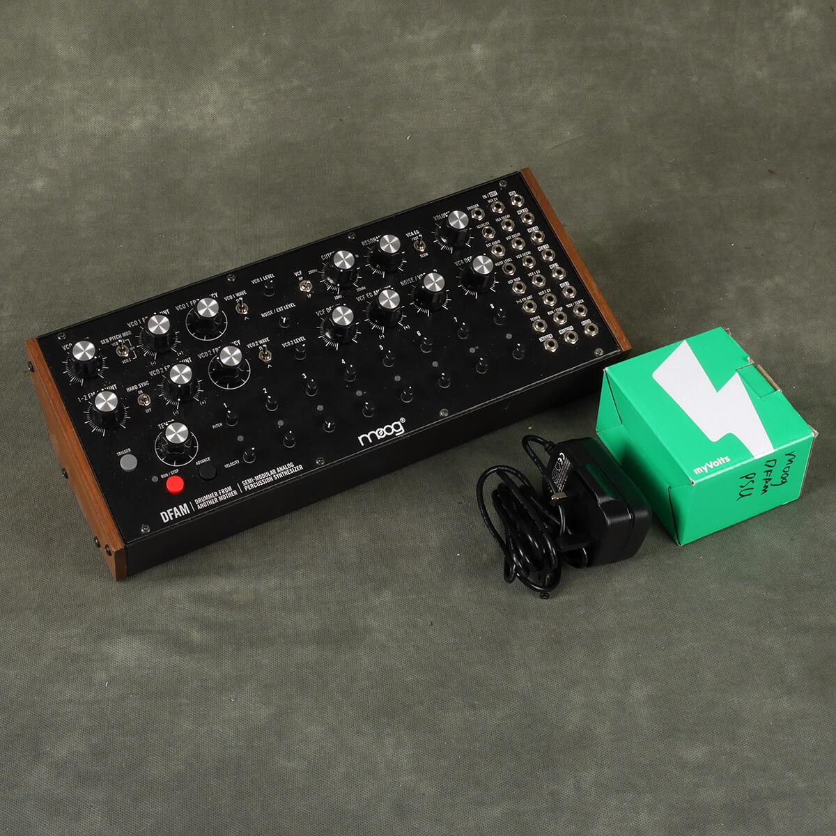 Moog DFAM Semi-Modular Synthesizer & PSU - 2nd Hand