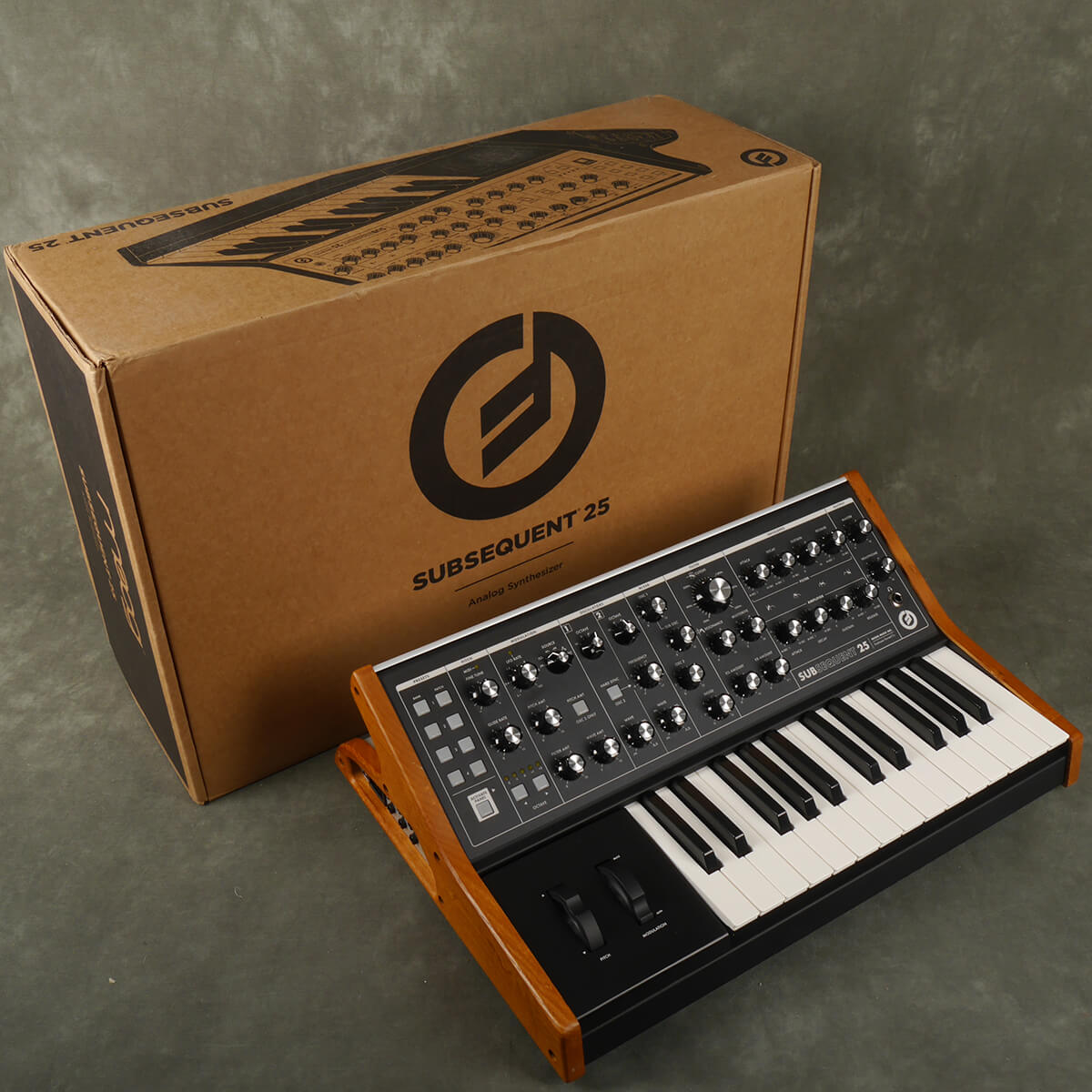 Moog Subsequent 25 Analogue Synthesizer w/Box & PSU - 2nd Hand