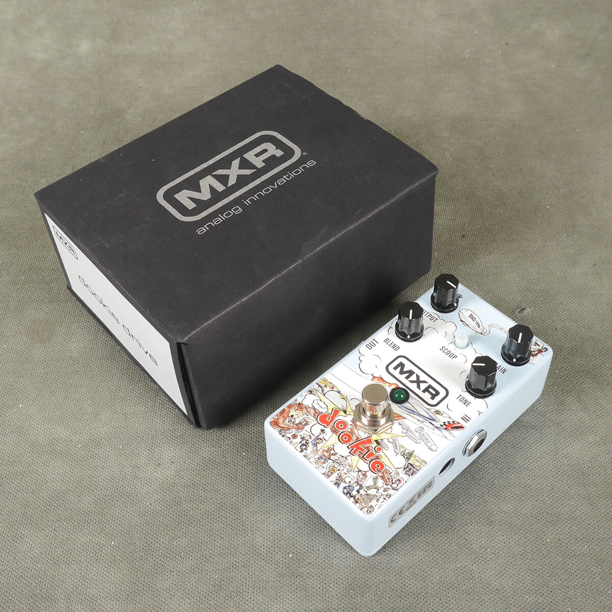 MXR Ver 1 Dookie Drive FX Pedal w/Box - 2nd Hand