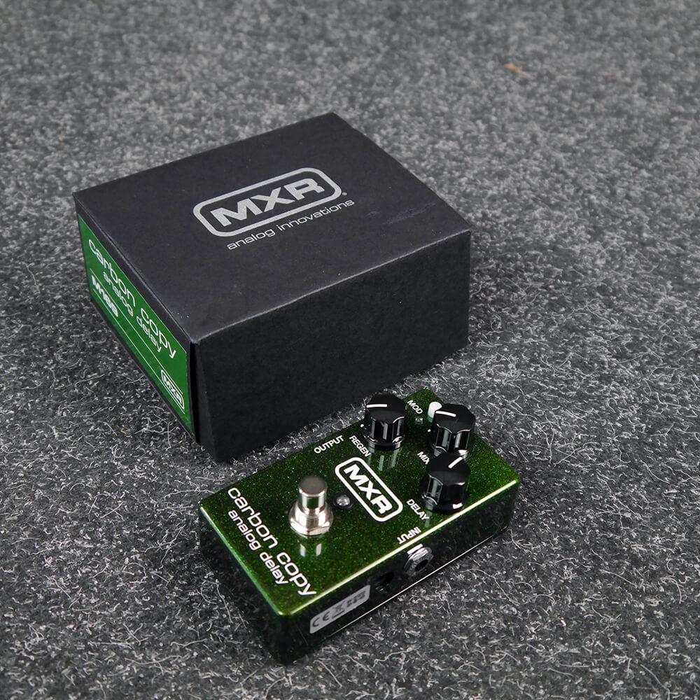 MXR M-169 Carbon Copy Analogue Delay Guitar FX Pedal w/Box - 2nd Hand