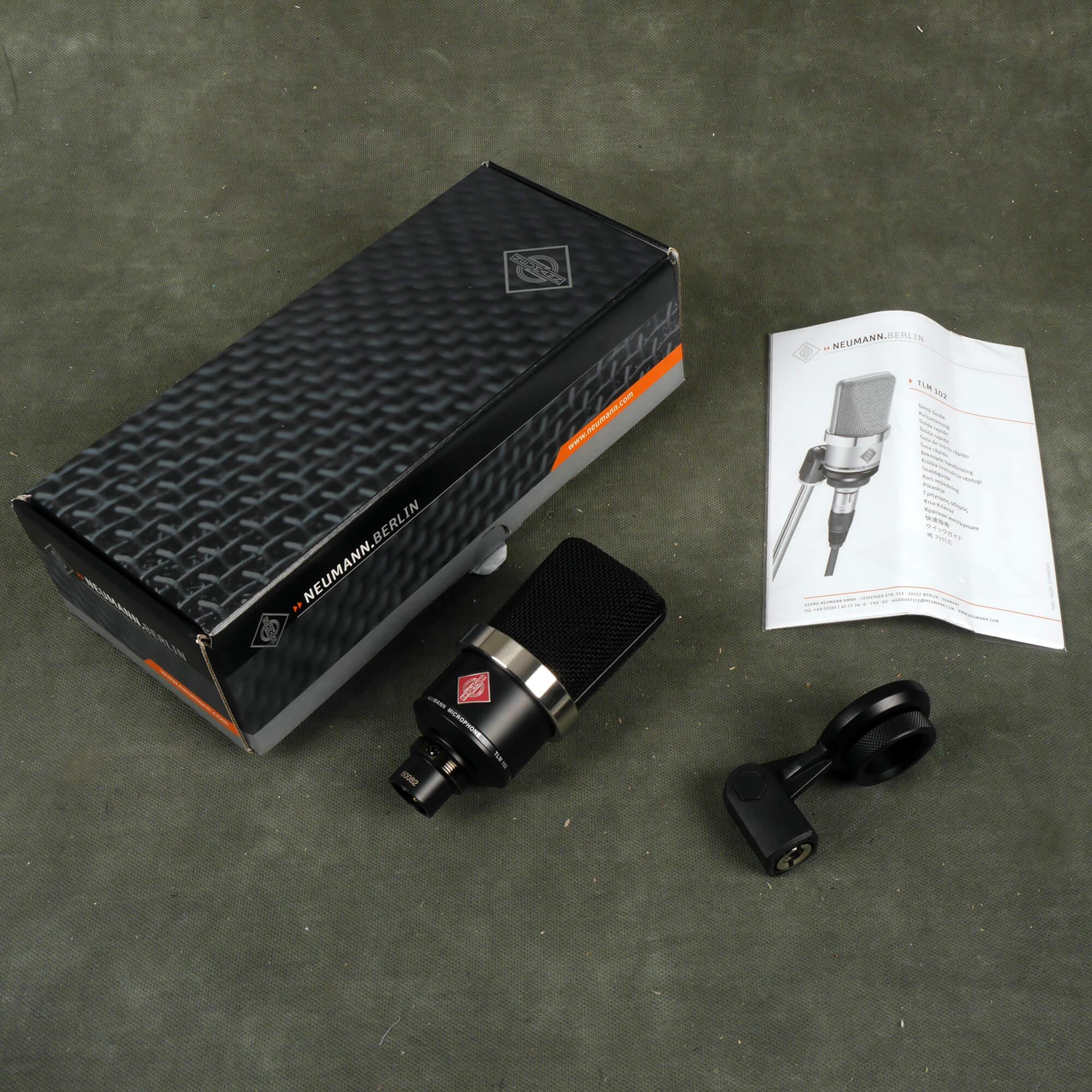Neumann TLM102 Condenser Microphone w/Box - 2nd Hand
