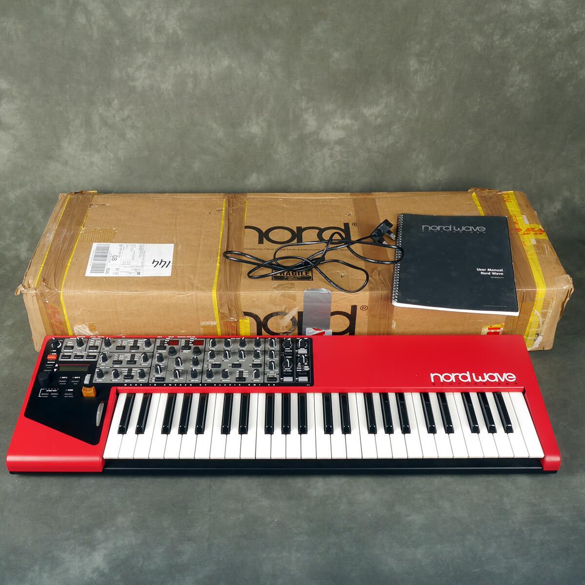 Nord Wave Performance Synthesizer w/Box & PSU - 2nd Hand