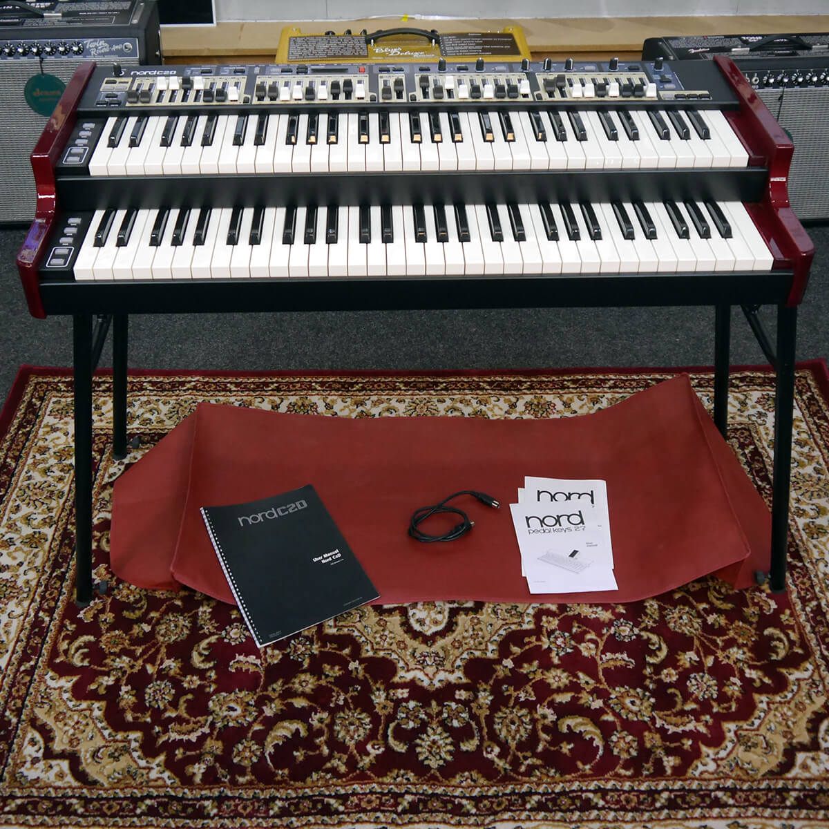 Nord C2D Organ & Stand w/Cover - 2nd Hand **COLLECTION ONLY**