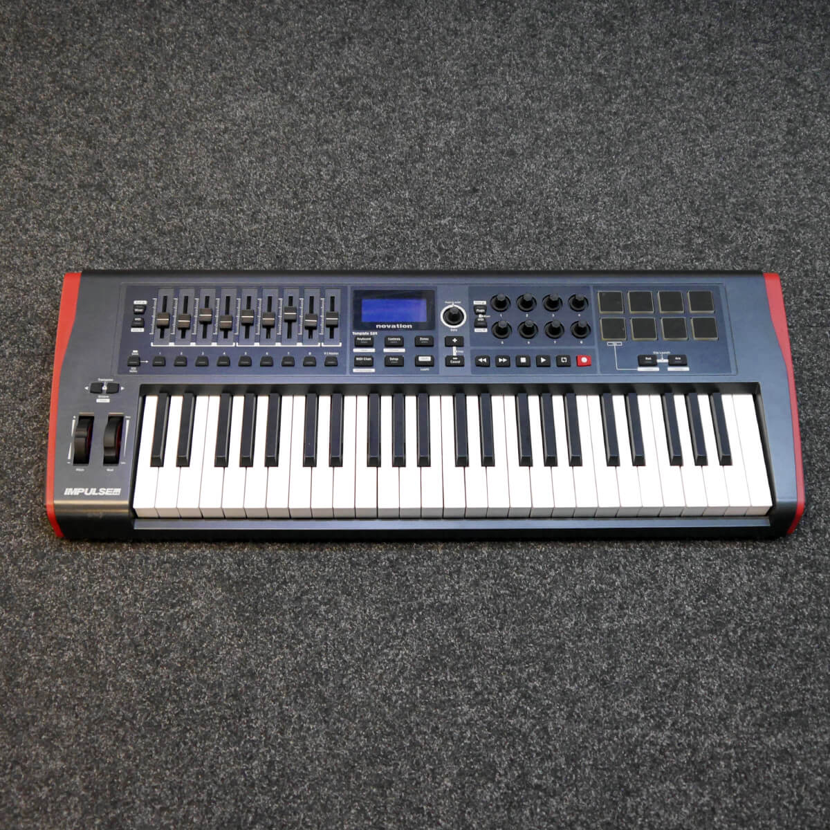 Novation IMPULSE 49 Midi Keyboard Controller - 2nd Hand