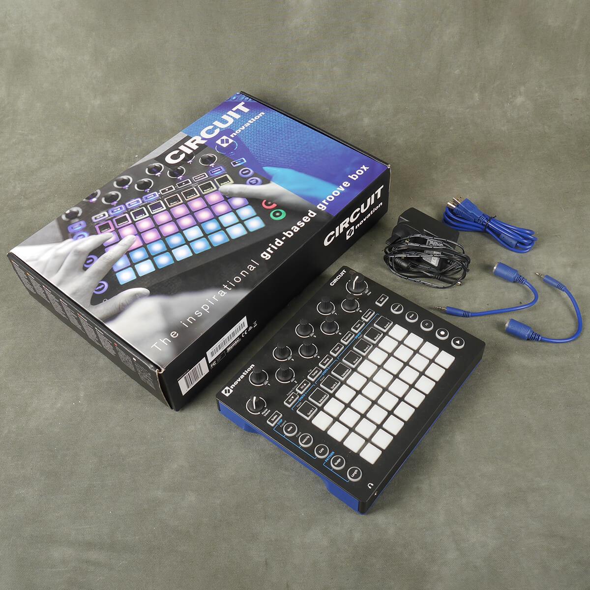 Novation Circuit Groovebox Synth w/Box & PSU - 2nd Hand