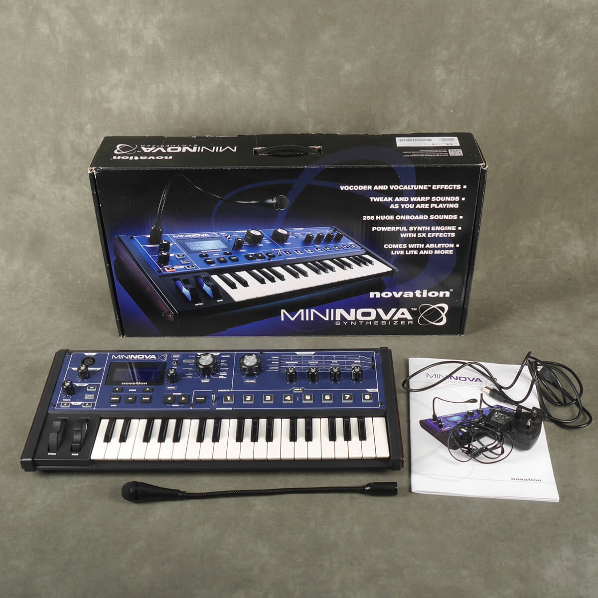 Novation MiniNova Synthesizer w/Box & PSU - 2nd Hand