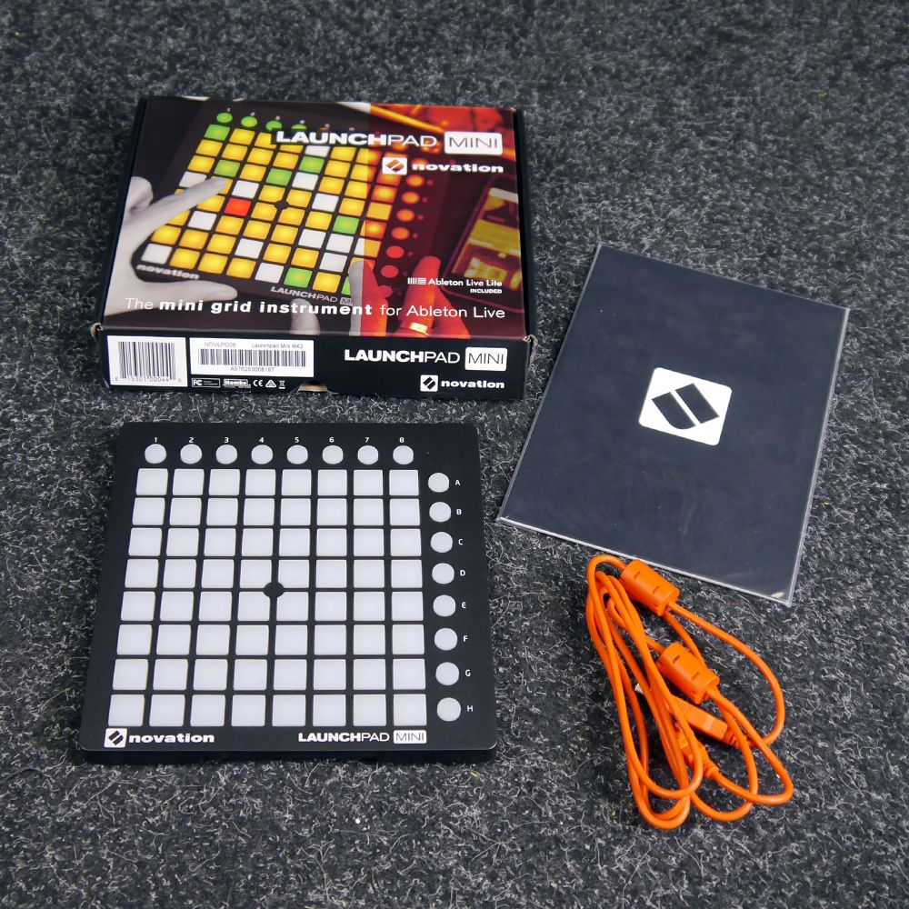 novation launchpad mini mk2 w box 2nd hand rich tone music. Black Bedroom Furniture Sets. Home Design Ideas