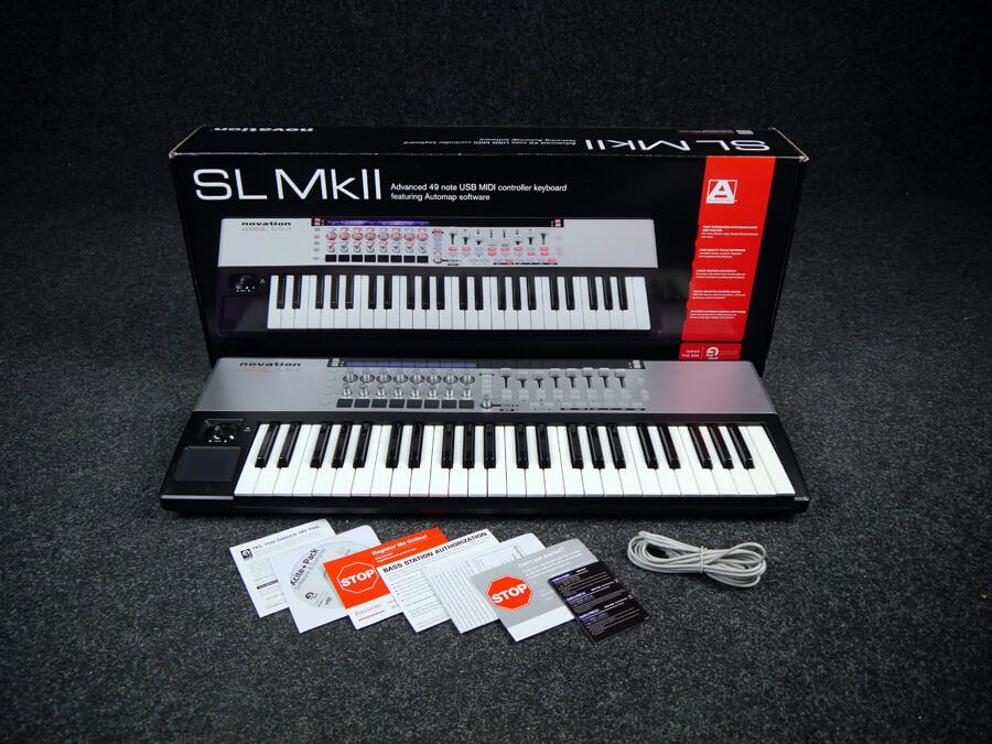 Novation 49 SL MkII Midi Controller w/Box - 2nd Hand
