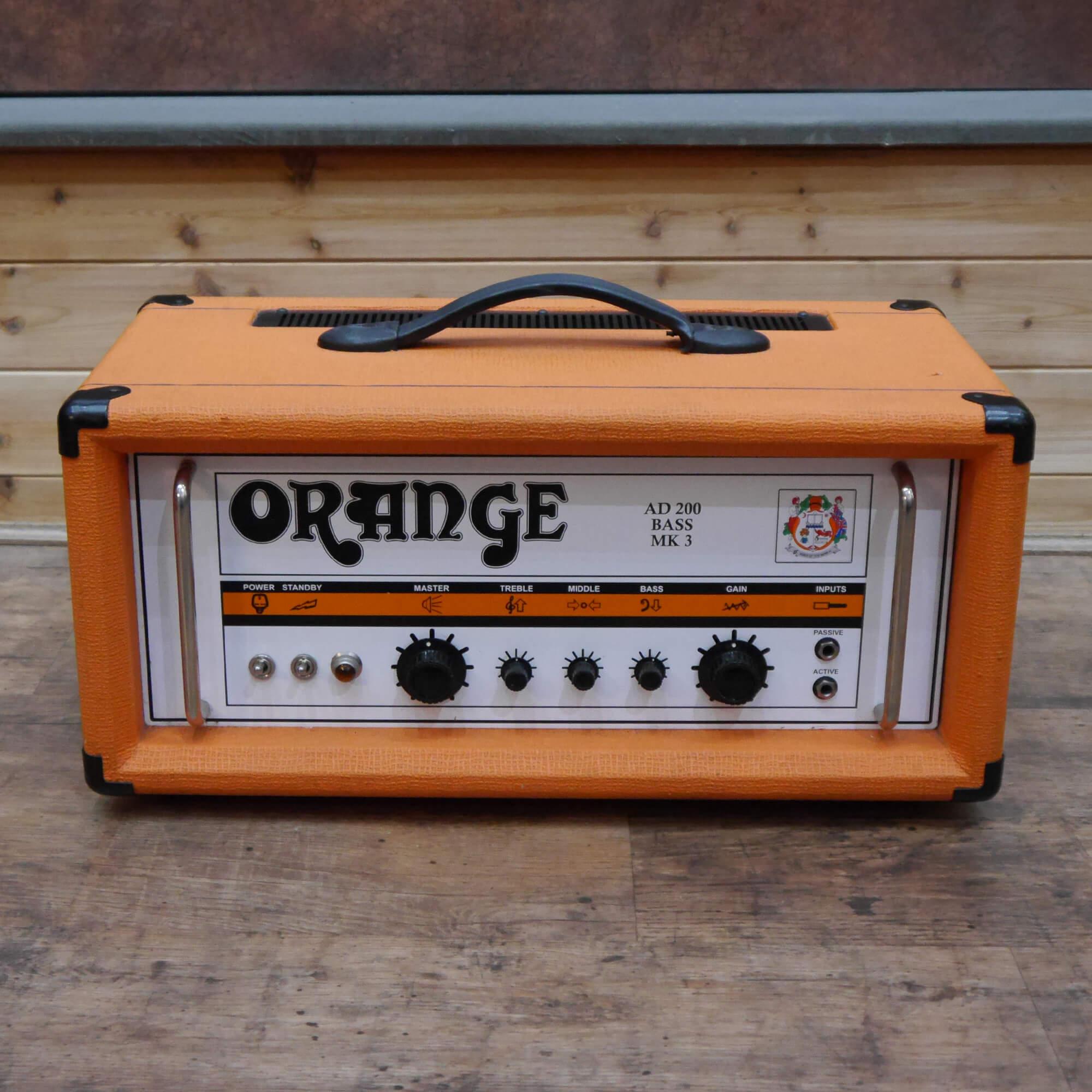 Orange AD200B Mk3 Bass Amp Head - 2nd Hand