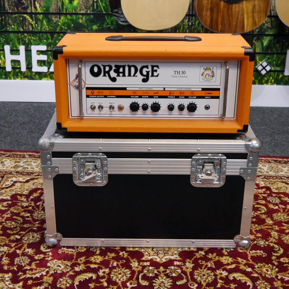 Orange TH30 Valve Amplifier Head - Flight Case - 2nd Hand