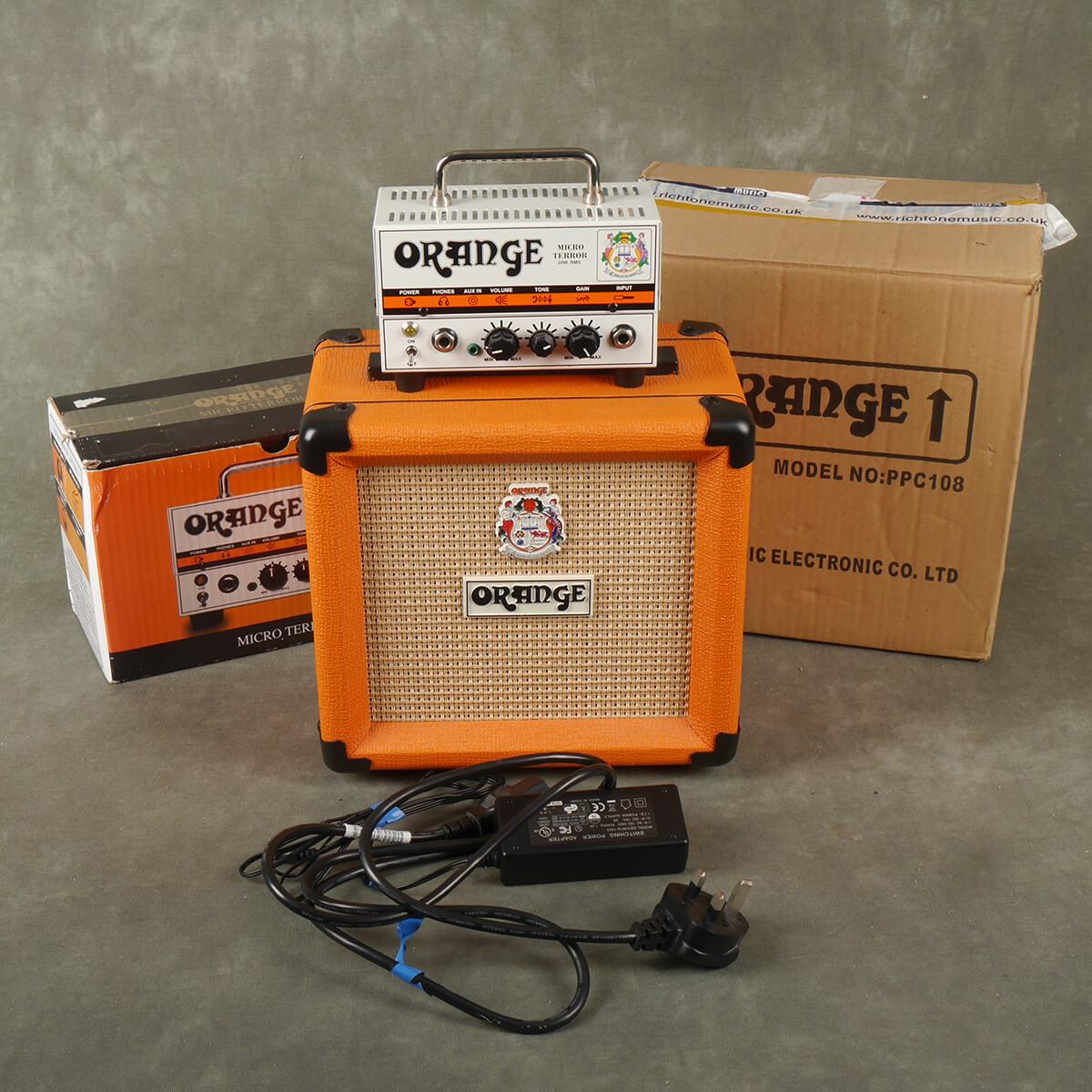 Orange Micro Terror & Orange PPC108 Cab w/Box & PSU - 2nd Hand
