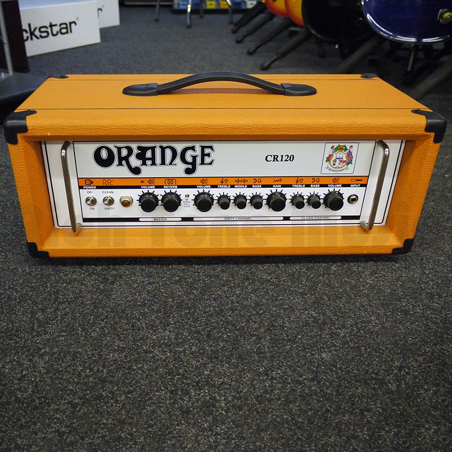 orange crush cr120h guitar amp head 2nd hand rich tone music. Black Bedroom Furniture Sets. Home Design Ideas