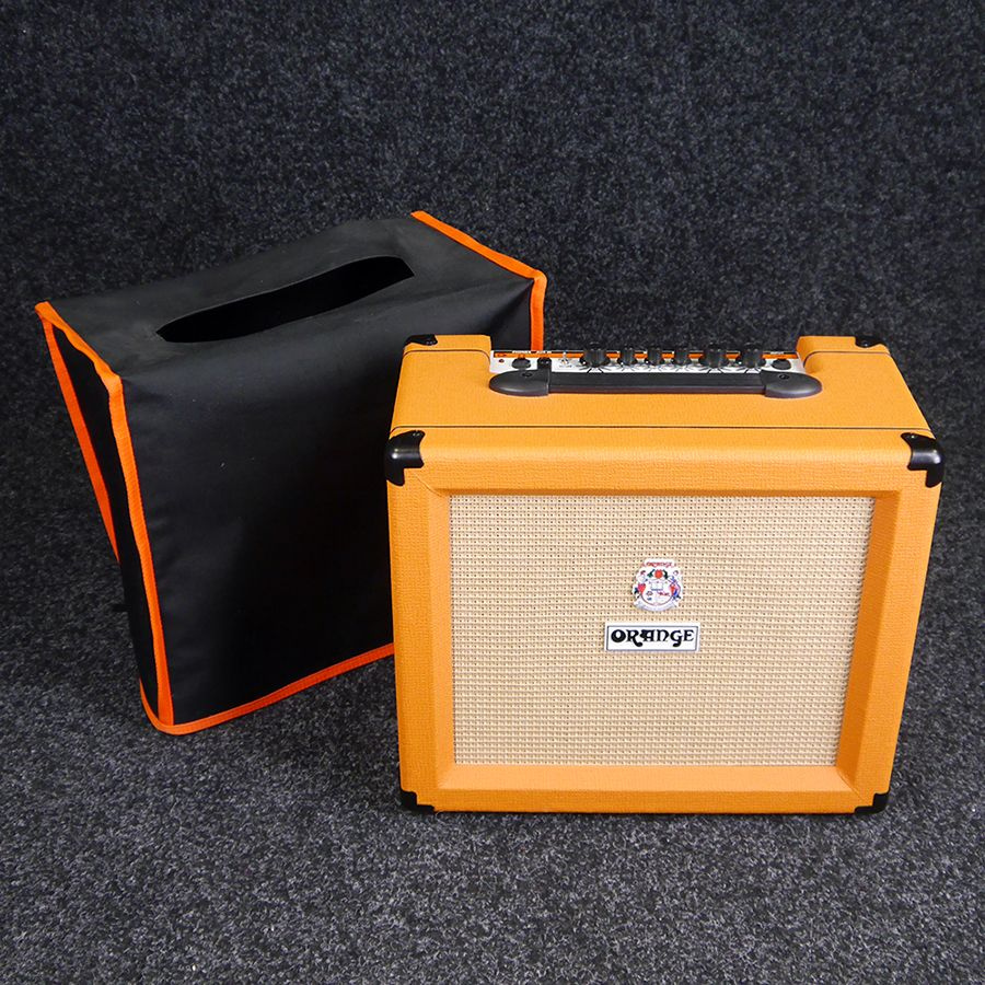 orange crush 35rt guitar combo amp w cover 2nd hand rich tone music. Black Bedroom Furniture Sets. Home Design Ideas
