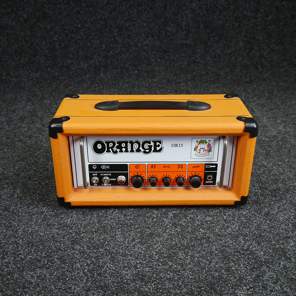 Orange OR15H Crush Pro Amplifier Head - 2nd Hand **COLLECTION ONLY**