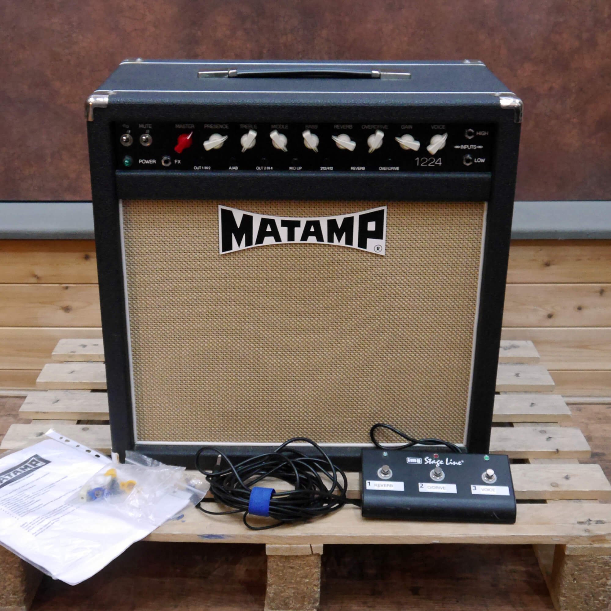 Matamp 1224 Valve Combo Amplifier - 2nd Hand **COLLECTION ONLY**
