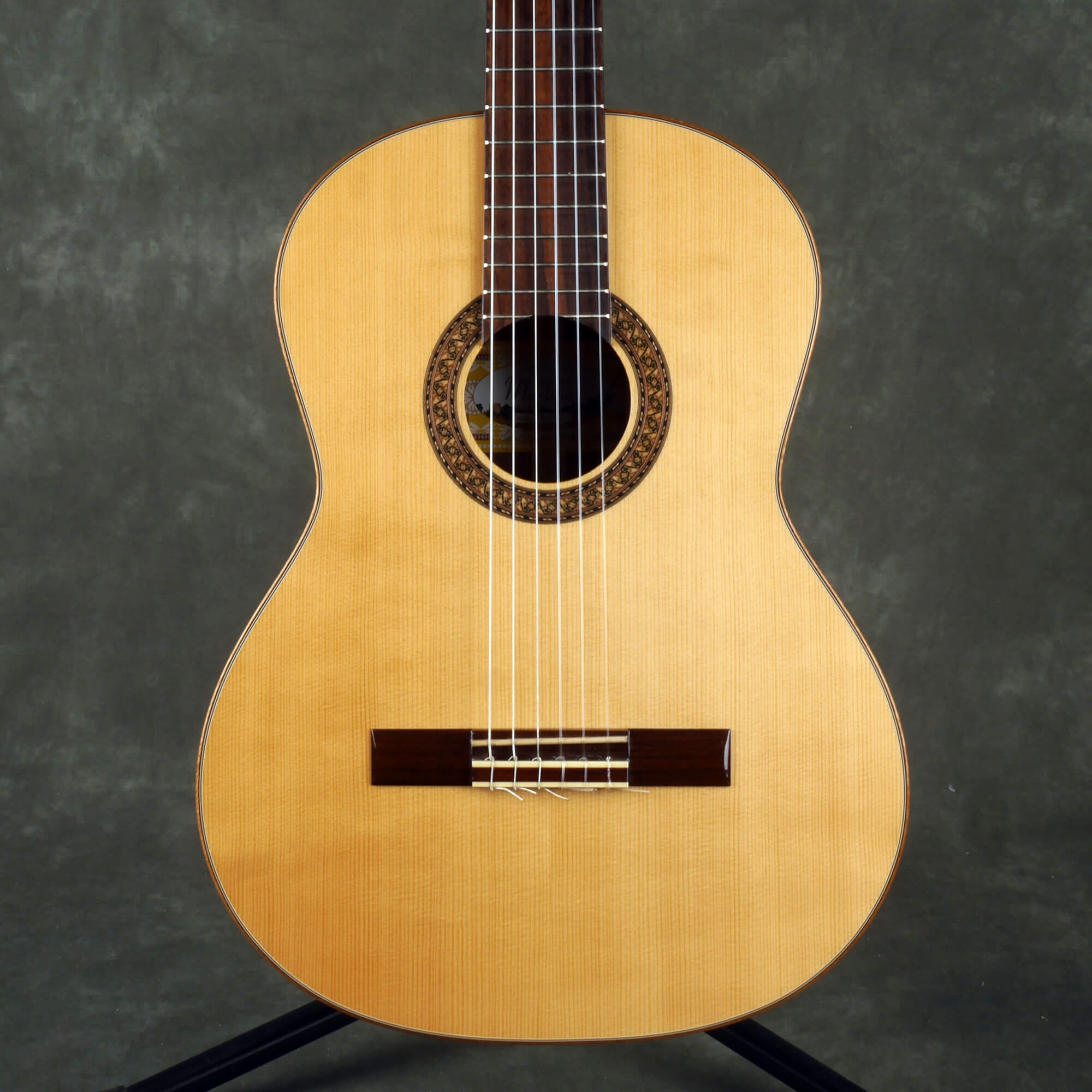Santos Martinez SM300 All Solid Classical Guitar - Natural - 2nd Hand