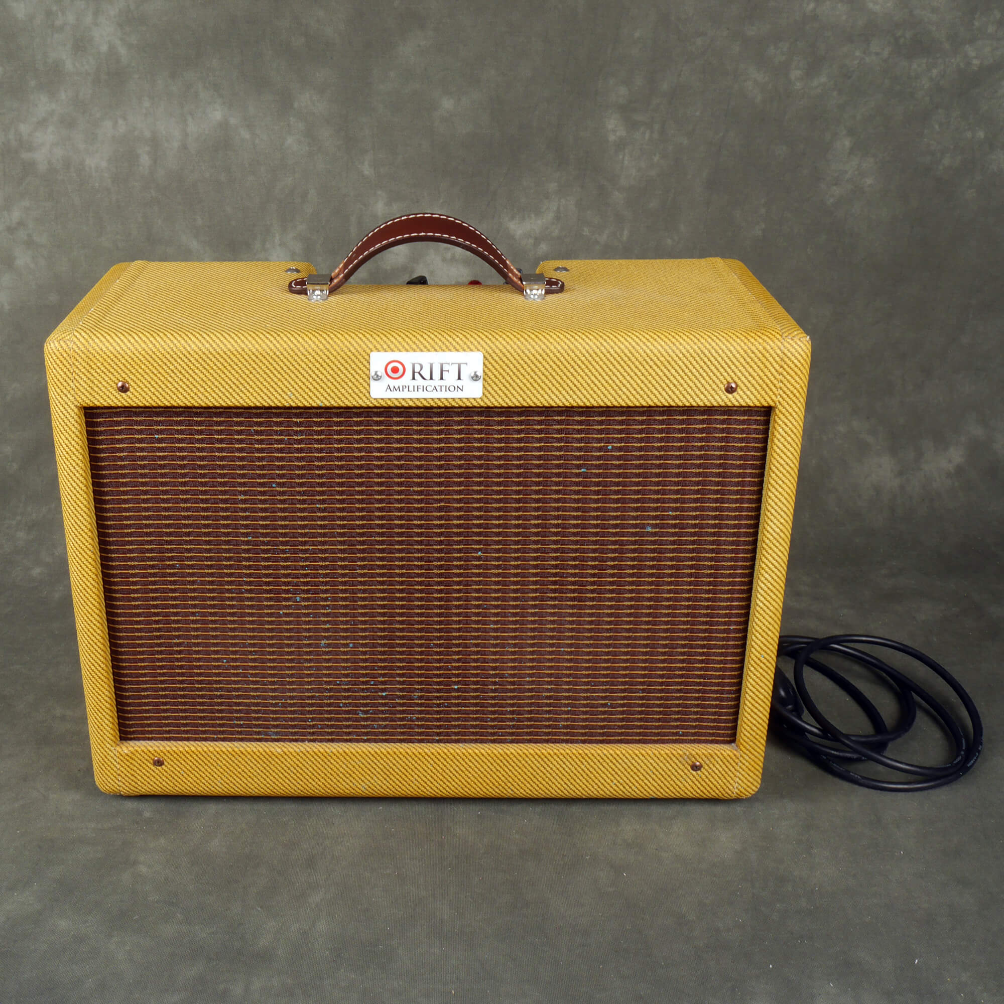 Rift Amplification Tweed 5 Twin Combo Amplifier - 2nd Hand **UK SHIPPING ONLY**