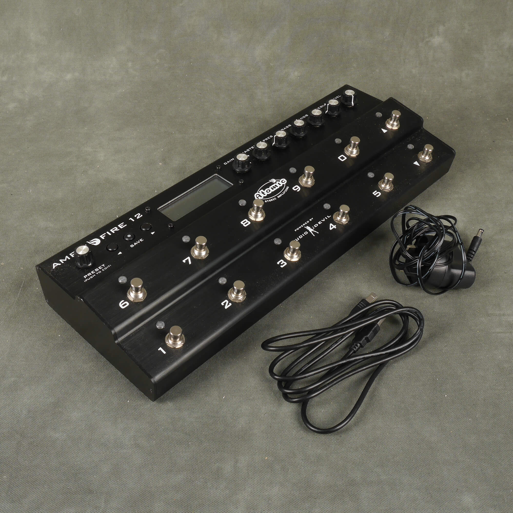 Atomic AmpliFIRE 12 Multi Effects Pedal - 2nd Hand
