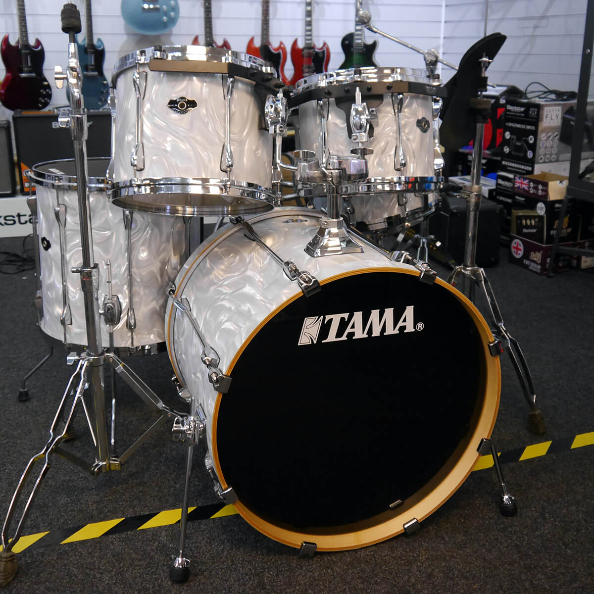 Tama Superstar Shell Pack & Hardware Satin Haze - 2nd Hand *COLLECTION ONLY*