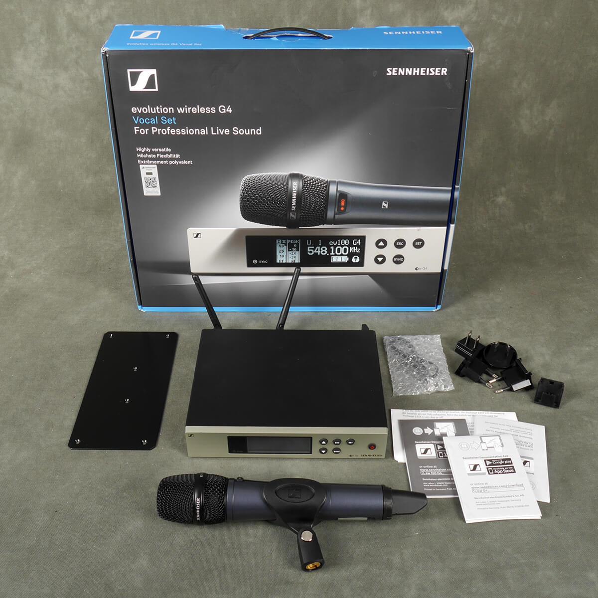 Senheiser G4EW 100 Wireless & 835 Microphone w/Box - 2nd Hand