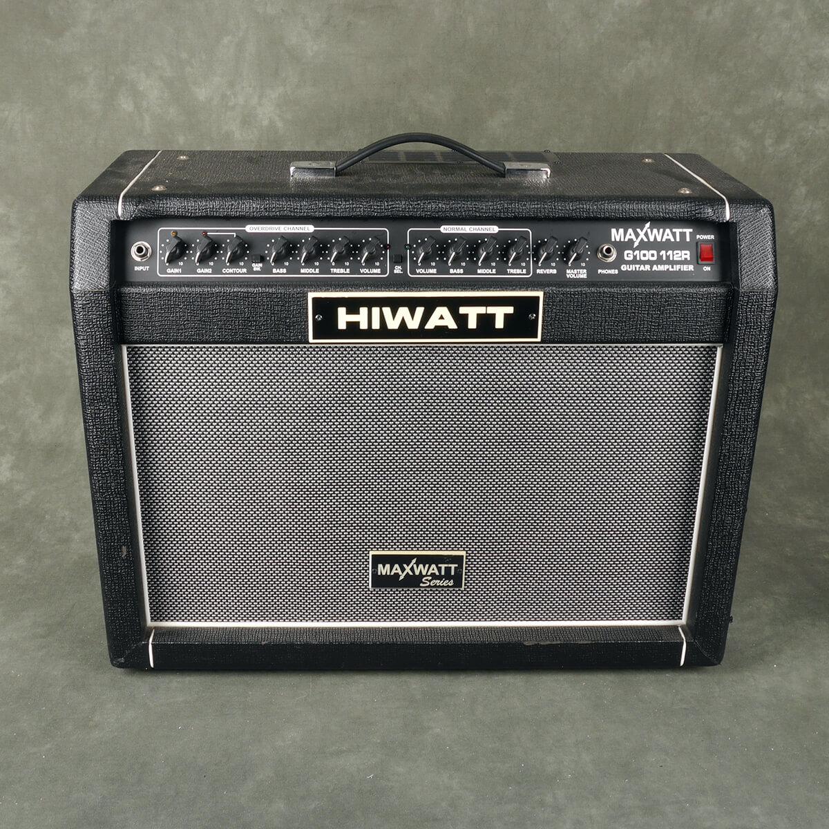 Hiwatt Maxwatt G100 112R Combo Amplifier - 2nd Hand
